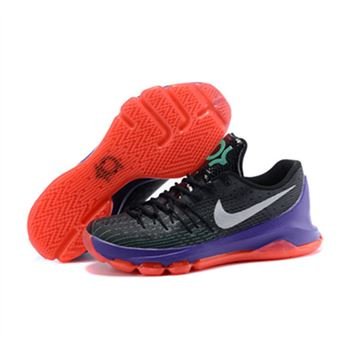 huge discount 67d52 62e33 NIKE KD 8 Black Purple Red Shoes