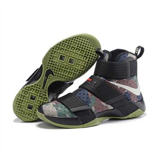 finest selection f358f 19304 Nike Lebron Soldier 10 X Shoes green black, Lebron James ...