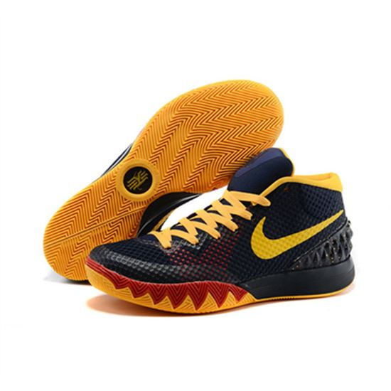 new product ba36a 05368 Nike Kyrie Irving 1 Black month Yellow red purple, Lebron ...