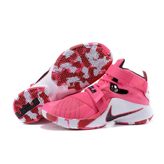 05ce554025b12 NIKE Lebron James 9 Soldier Pink